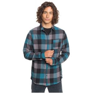 Košile Quiksilver MOTHERFLY FLANNEL BLUE CORAL MOTHERFLY