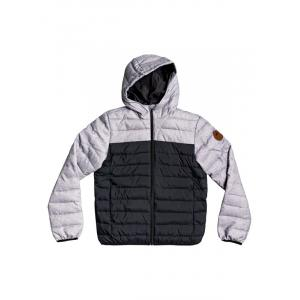 Zimní bunda Quiksilver SCALY MIX YOUTH BLACK