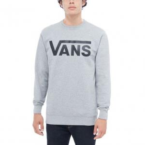 Mikina Vans CLASSIC CREW Cement Heather/Black