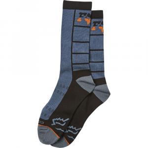 Ponožky Fox Lane Splitter Crew Sock Blue Steel