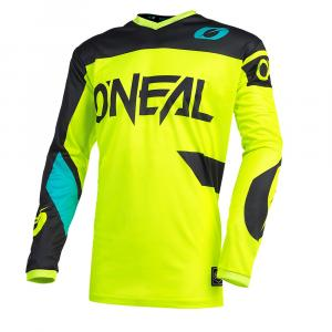 Pánský cyklodres Oneal ELEMENT Jersey RACEWEAR neon yellow/black