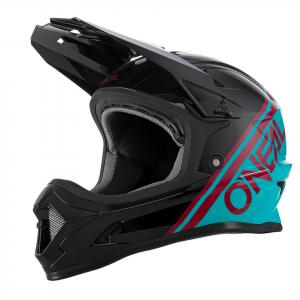 Cyklistická helma Oneal SONUS HELMET SPLIT BLACK/TEAL