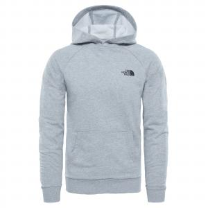 Mikina The North Face RAGLAN REDBOX HOODIE TNF LIGHT GREY HEATHER