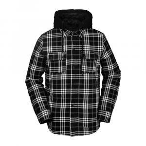 Mikina Volcom Field Ins Flannel Black