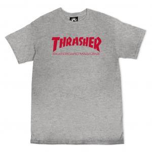 Tričko Thrasher Skate Mag SS Grey