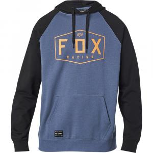 Mikina Fox Crest Pullover Fleece Blue Steel