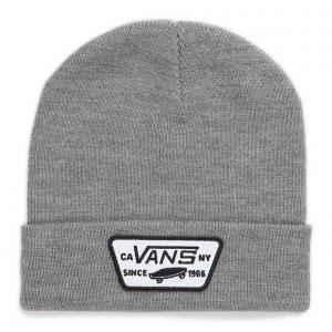Čepice Vans MILFORD BEANIE BOYS Heather Grey