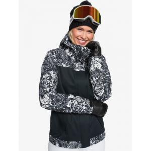 Zimní bunda Roxy ROXY JETTY BLOCK JK TRUE BLACK TIGER CAMO