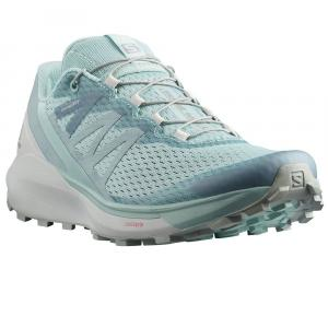 Běžecké boty Salomon SENSE RIDE 4 W Pastel Turquoise/ Lunar Rock/ Slate