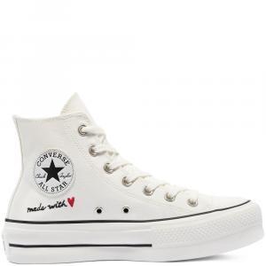 Boty Converse CHUCK TAYLOR ALL STAR VINTAGE WHITE/EGRET/BLACK