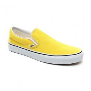 Boty Vans Classic Slip-On vibrant yellow/true white