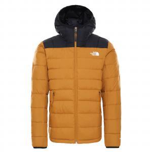 Zimní bunda The North Face LA PAZ HOODED JKT TIMBER TAN