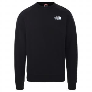 Mikina The North Face RAGLAN REDBOX CREW TNF BLACK/TNF RED