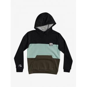 Mikina Quiksilver TROPICAL BLOCK HOOD YOUTH PUREED PUMPKIN