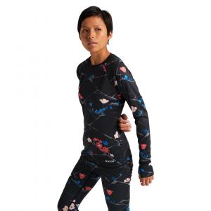 Termo tričko Burton Lightweight X Base Layer TRUE BLACK LANDSCAPE FLORAL