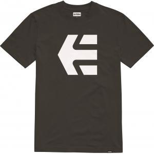 Tričko Etnies Icon Tee 976 BLACK/WHITE
