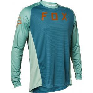 Pánský cyklodres Fox Defend Ls Jersey Slate Blue