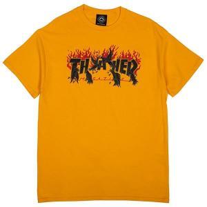 Tričko Thrasher CROWS Gold