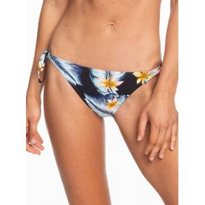 Plavky Roxy Dreaming Day Tie-Side Bikini Bottoms ANTHRACITE TROPICAL LOVE S