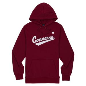 Mikina Converse NOVA PULLOVER HOODIE FT TEAM RED