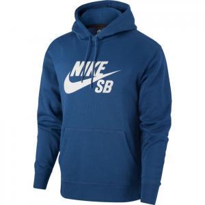 Mikina Nike SB ICON HOODIE PO ESSNL mystic navy/vast grey