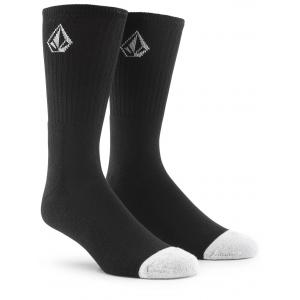 Ponožky Volcom Full Stone Sock 3-Pack Black