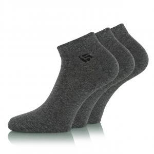 Ponožky Funstorm Mivar 3 pack dark grey
