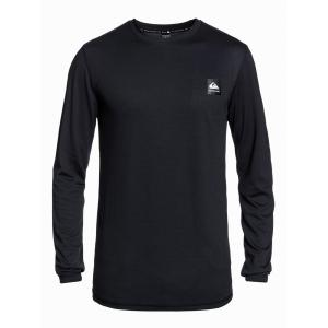 Termo tričko Quiksilver TERRITORY LAYER TOP BLACK