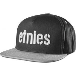 Kšiltovka Etnies Corp Snapback BLACK/GREY