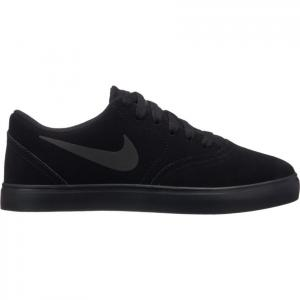 Boty Nike SB CHECK SUEDE (GS) black/black-anthracite