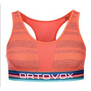 Podprsenka Ortovox W's 185 Rock'n'Wool Sport Top Coral