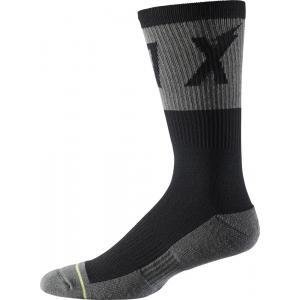 Ponožky Fox 8' Trail Cushion Sock Wurd Black
