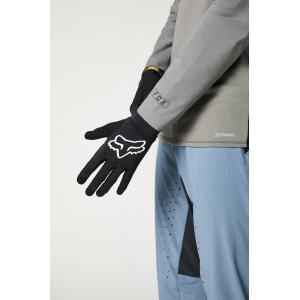 Cyklistické rukavice Fox Flexair Glove Black
