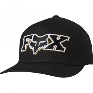 Kšiltovka Fox Ellipsoid Flexfit Hat Black/Yellow
