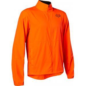 Bunda na kolo Fox Ranger Wind Jacket Fluo Orange
