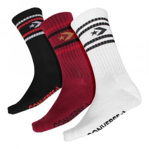 Ponožky Converse Men's Sport Inspired crew AW19 Back E863D-3010