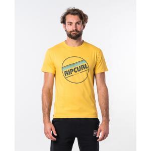 Tričko Rip Curl YO MAMA S/S TEE  Washed Yellow
