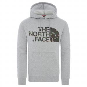 Mikina The North Face STANDARD HOODIE TNF LIGHT GREY HEATHER