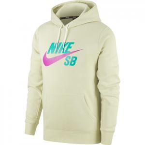 Mikina Nike SB SB ICON HOODIE PO ESSNL olive aura/vivid purple