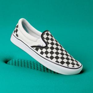 Boty Vans ComfyCush Slip-On CLASSIC CHECKERBOARD/TRUE WHITE