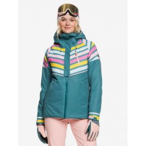 Zimní bunda Roxy FROZEN FLOW JK NORTH SEA POP SNOW