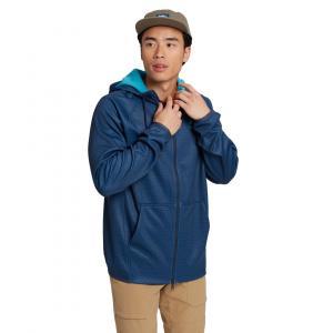 Mikina Burton Crown Weatherproof Full-Zip Fleece DRESS BLUE HEATHER