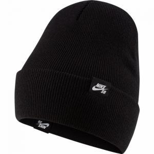 Čepice Nike SB CAP UTILITY BEANIE black/white