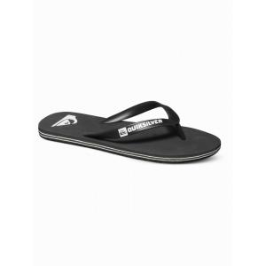 Žabky Quiksilver MOLOKAI-YOUTH BOYS BLACK/BLACK/WHITE