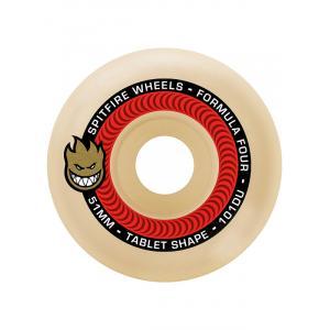 Skateboardová kolečka Spitfire F4 101 TABLET NATURAL