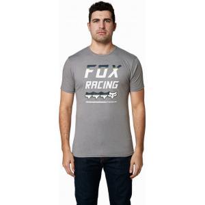 Tričko Fox Full Count Ss Premium Tee Heather Graphite