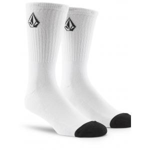 Ponožky Volcom Full Stone Sock 3-Pack White