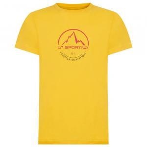 Tričko La Sportiva LOGO TEE Yellow