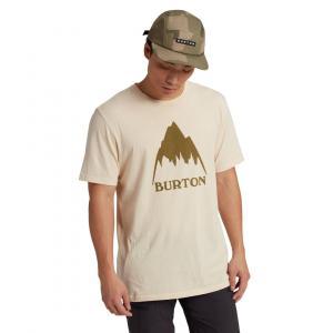 Tričko Burton Classic Mountain High SS CREME BRULEE