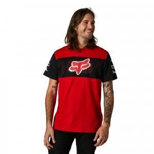 Tričko Fox Mirer Ss Crew Tee Flame Red